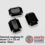 Diamond cangkang-01 hitam