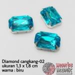 Diamond cangkang-02 biru