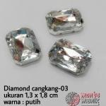 Diamond cangkang-03 putih