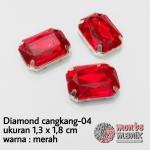 Diamond cangkang - 04 merah