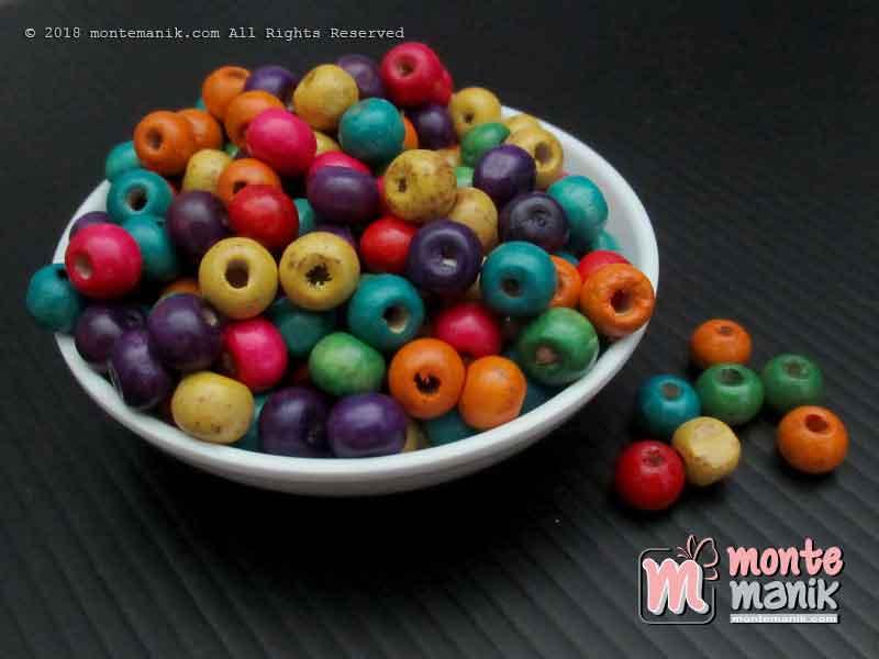 Manik Kayu Bulat 8 mm (MKU-03)