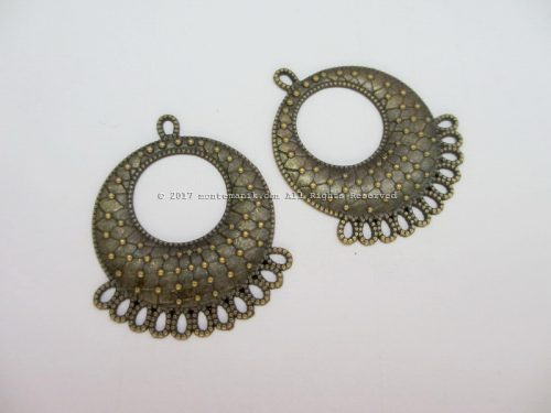 Ornamen Plat Anting-025 (OAB-025)