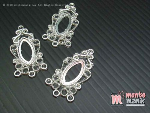 Ornamen Plat Anting OAB-09