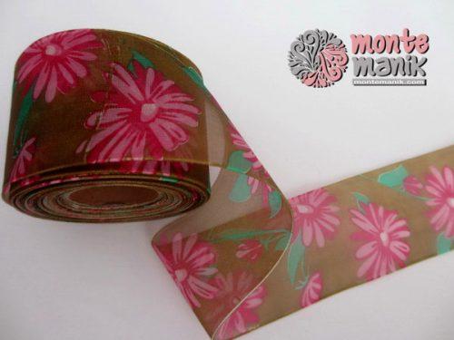 pita-organdie-coklat-motif-bunga-4-cm