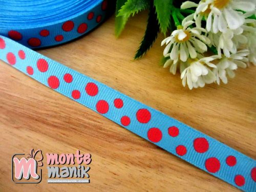 pita-grosgrain-motif-polka-biru