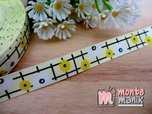 pita-grosgrain-sunflowers-kuning-1,5-cm