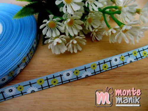 pita-grosgrain-sunflowers-biru-1-cm
