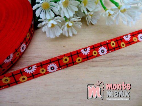 pita-grosgrain-sunflowers-merah-1-cm