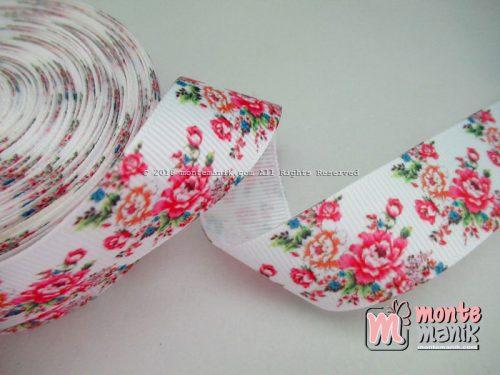Pita Grosgrain Shaby Rose 1″ (PITA-068)