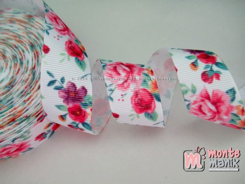 Pita Grosgrain Shaby Rose 7/8″ atau 2,2 cm (PITA-065)