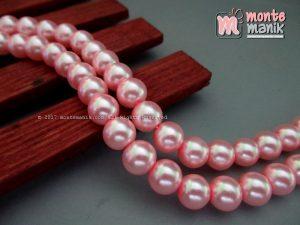 Mutiara Sintetis 8 mm Baby Pink ( MTA-012)