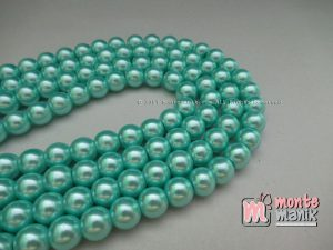 Mutiara Sintetis 8 mm Soft Blue  ( MTA-09)