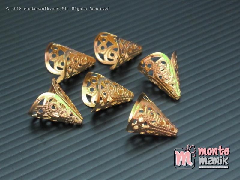 Cangkang Bunga Bakul Gold (CKB-09)