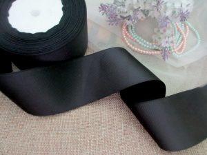pita-grosgrain-polos-hitam-5-cm