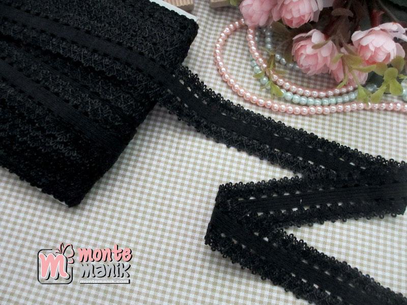 renda-elastis-hitam