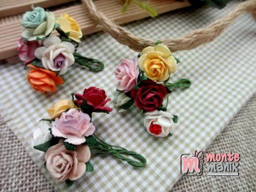 bunga-mawar-kertas-campur-warna