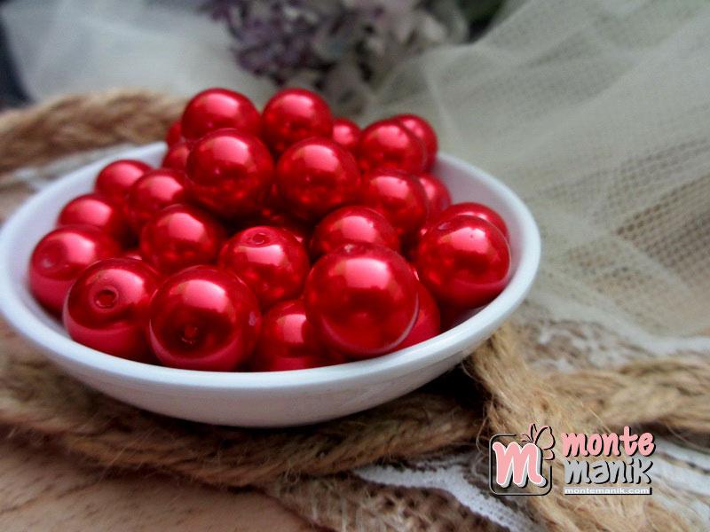 mutiara-sintetis-10mm-merah