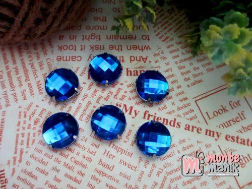 rhinestone-bundar-biru