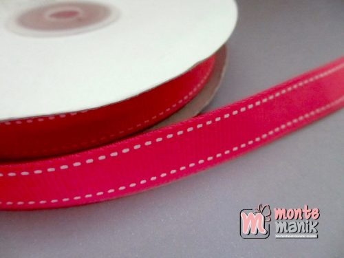 Pita Grosgrain Stripes Hot Pink 1cm (PITA-172)