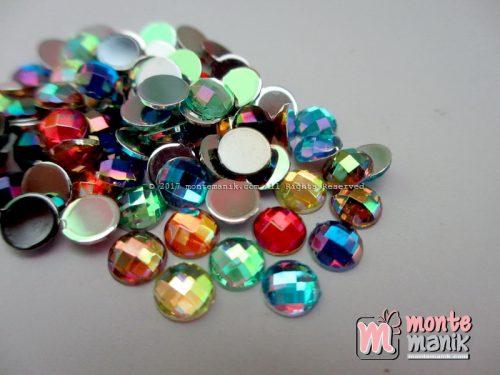 Aplikasi Diamond Imitasi Tempel Pelangi 6 mm (DMD-039)