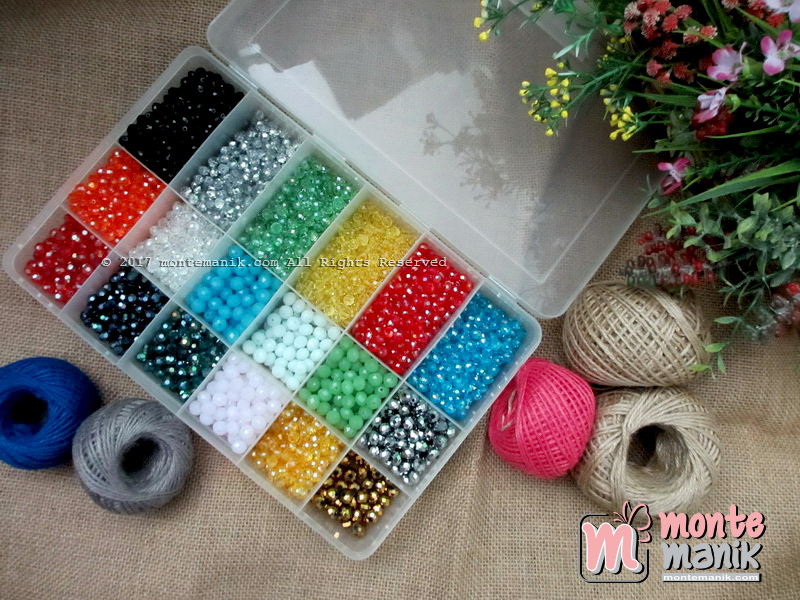Box / Wadah Penyimpan Manik-manik 18 Sekat (BOX-012)