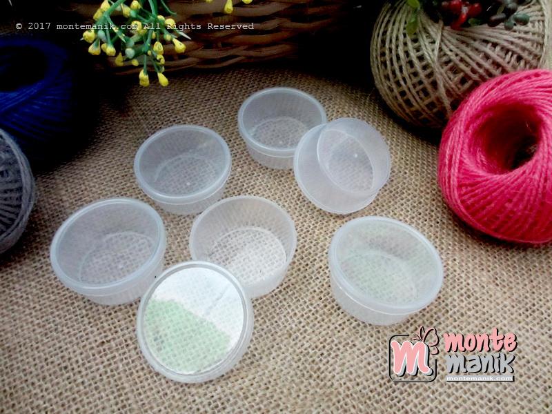 POT atau Cepuk Manik-manik Payet dan Peniti (BOX-017)