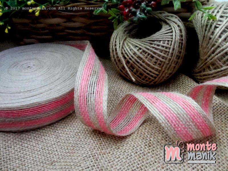 Pita Goni Stripes Pink 2,7cm (GONI-018)