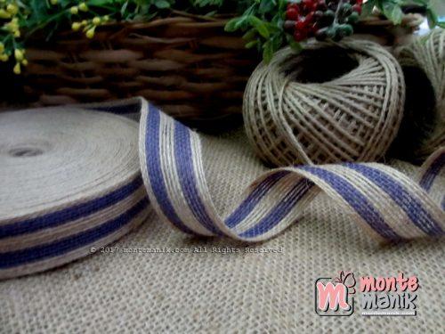 Pita Goni Stripes Ungu 25cm (GONI-017)