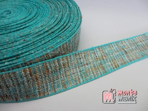Pita-Korea-Linen-Aqua-1-inch-atau-2,5-cm-(PITA-183)
