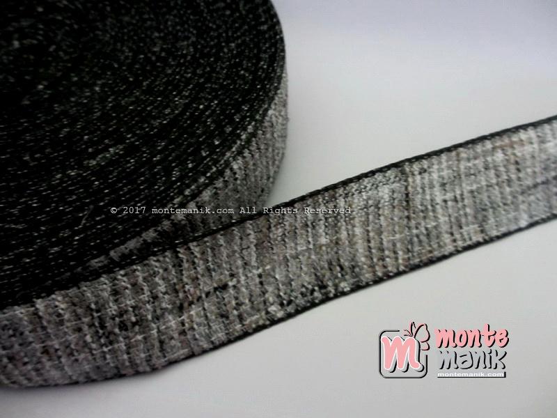 Pita-Korea-Linen-Hitam-1-inch-atau-2,5-cm-(PITA-184)