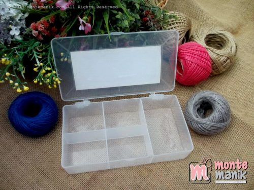 Storage Box Manik-Manik 5 sekat (BOX-015)