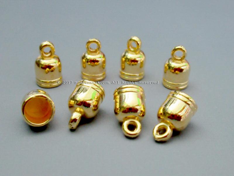 Cap Tassel atau Pengumpul Tali Gold 6 mm (BKL-040)