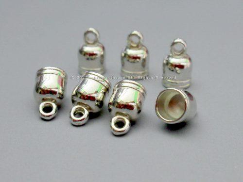 Cap Tassel atau Pengumpul Tali Silver 6 mm (BKL-039)