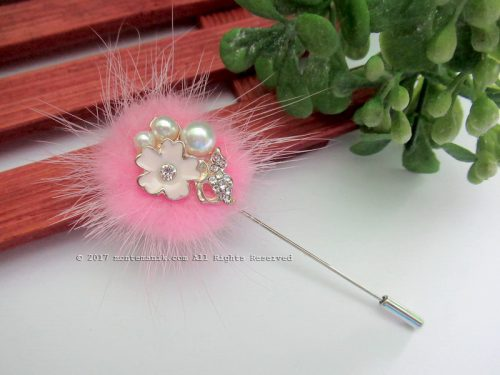 Pink Shinta Stick Pins (PDL-020)