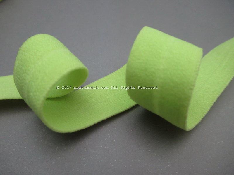 Pita Elastis atau Foe Doff Hijau 1,6 cm (FOE-010)