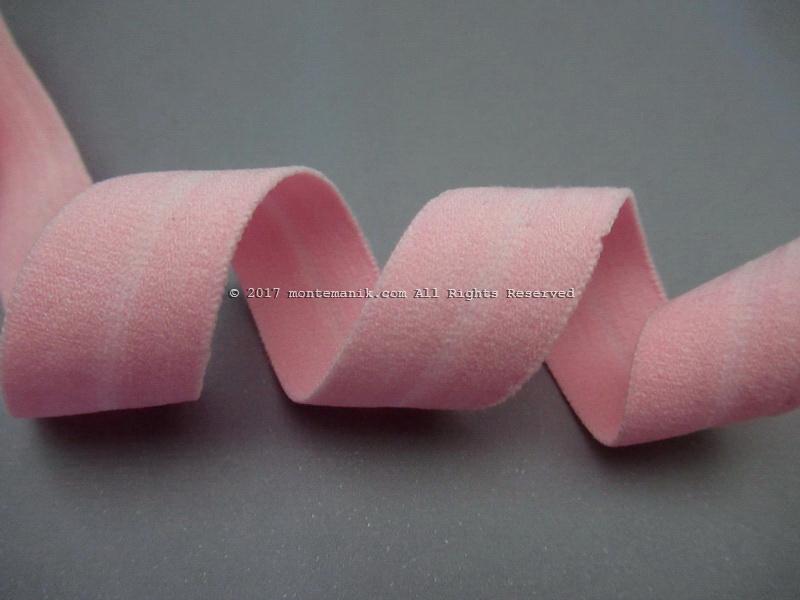 Pita Elastis atau Foe Doff Soft Pink 1,6 cm (FOE-05)