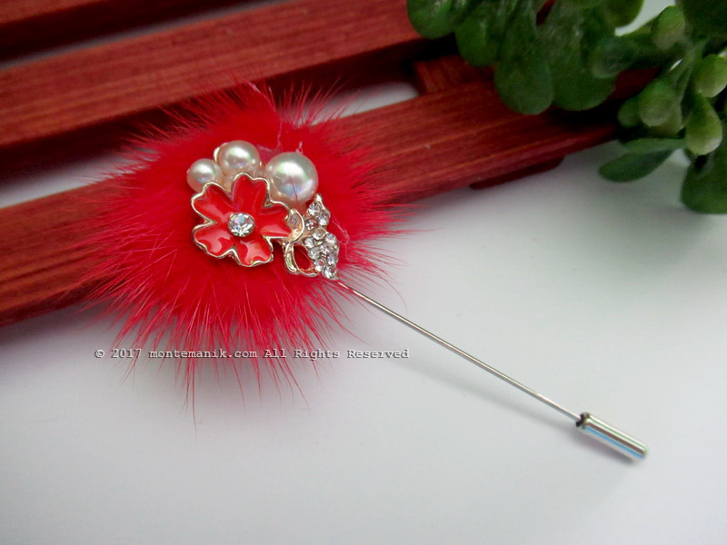 Red Shinta Stick Pins (PDL-023)