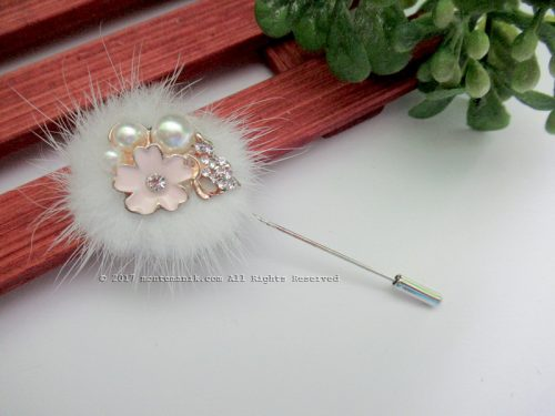 White Shinta Stick Pins (PDL-022)