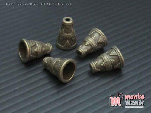 Cangkang Bunga Corong Hijau Bakar (CKB-021)