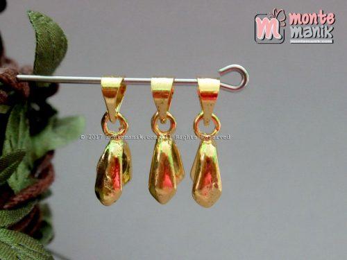 Klep Liontin Monel Tanggung Gold (BKL-043)