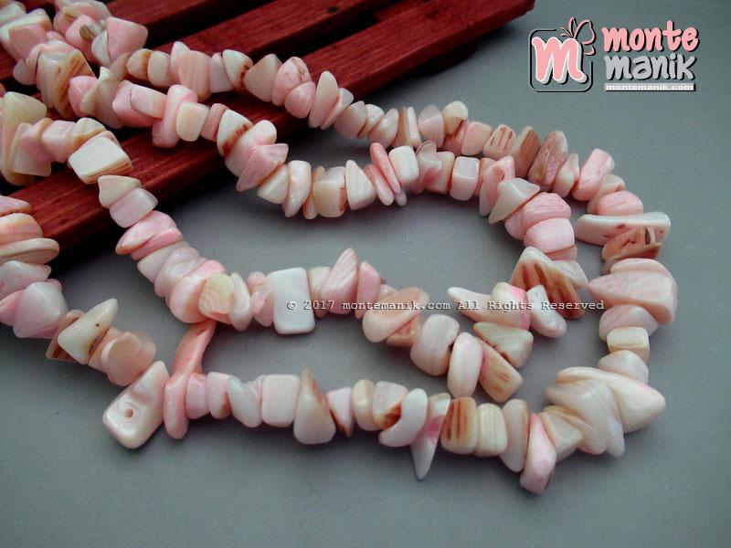Manik Kerang Kerikil Soft Pink (BTH-02)