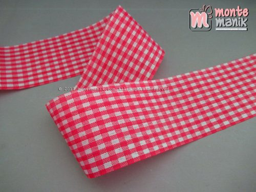 Pita Gingham Hot Pink 5 cm (PITA-203)