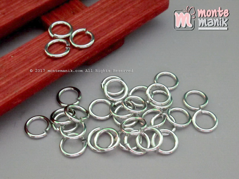 Ring Monel 8 mm Nikel (RING-08)