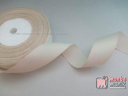 Pita Grosgrain Polos 1 inc atau 2,5 cm Cream (PITA-212)
