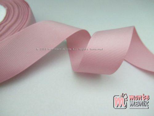 Pita Grosgrain Polos 1 inc atau 2,5 cm Dusty Pink (PITA-220)