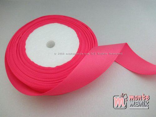 Pita Grosgrain Polos 1 inc atau 2,5 cm Hot Pink (PITA-208)