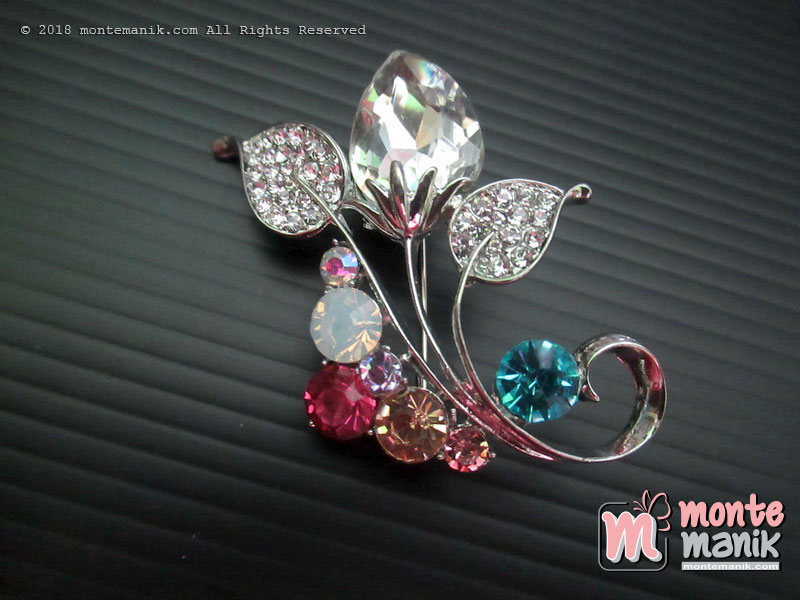 Brooch Pin Tulip Flowers (PDL-040)