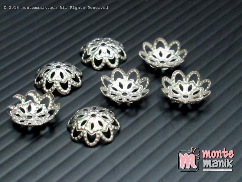 Cangkang Bunga Pipih Nikel 10 mm (CKB-027)