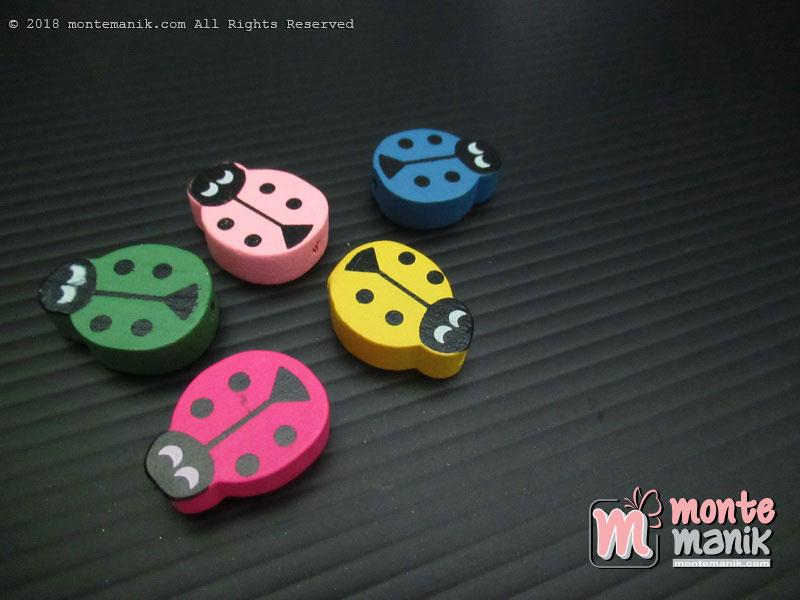 Manik Kayu Cute Ladybugs (MKU-033)