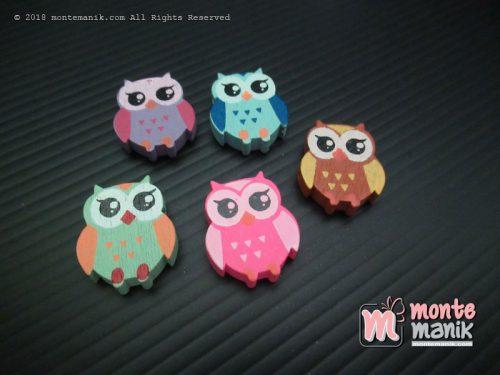 Manik Kayu Cute Owl (MKU-031)